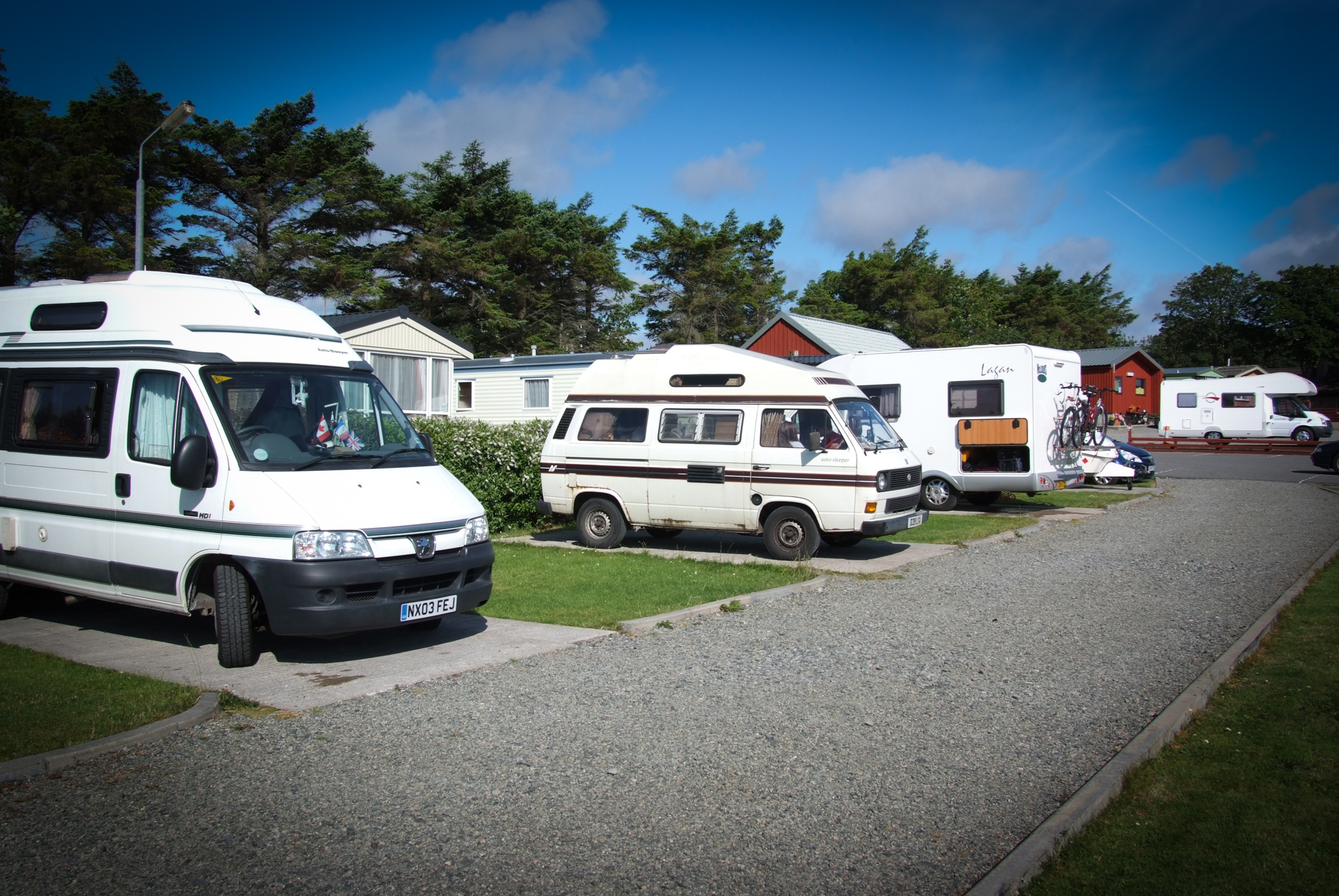 Touring Amp Camping Laxdale Holiday Park Isle Of Lewis