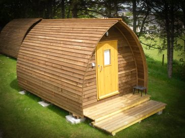 Laxdale Holiday Park - Isle of Lewis - Wigwam Camping Pod 41